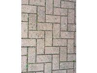 Block Paving approx 110 square metres