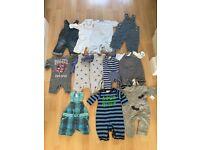 Baby bundle 0-3 month boy