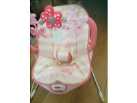 Baby fisher price vibrating bouncy chair