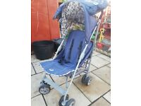 Obaby Metis Stroller Bundle (Little Sailor) £55