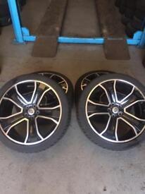 "22"" Range Rover alloys"