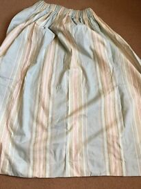 Laura Ashley striped curtains excellent condition