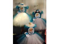 Elsa beautiful tutu dresses handmade