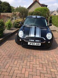 Black Mini One Automatic ..Petrol