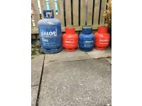 Various calor bottles