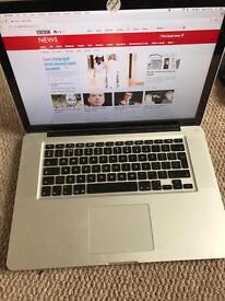 MacBook Pro 15 inch mid 2012 500gb SSD