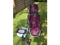 Baby Jogger City Select Double Buggy. Pram