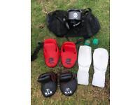 Kickboxing Sparing Kit/Protective Gear