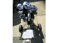 WILSON PROSTAFF FULL GOLF GOLF SET UP, ( GT CONDITION)