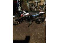 Swapz only 110cc Pitbike