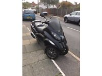 Piaggio mp3 125 cc 3 wheeler 1 owner from new grab a bargain