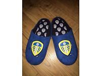 Leeds United Slippers 7 - 8