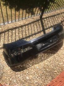 Vauxhall astra rear bumper