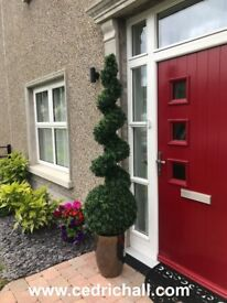 Single 180cm / 6ft DELUXE Artificial Spiral Trees