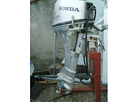 Honda 8hp 4 stroke long shaft outboard engine 2008