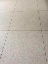 Grey starlight Quartz floor tiles