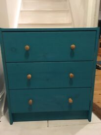 Ikea painted chest of drawers