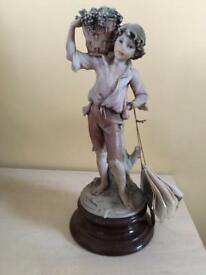 "Gio Armani figurine ""harvesting fruit"" excellent condition with original tags"