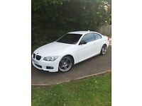 BMW 318i M sport coupe ( sport + edition) petrol. 2012 (62 plate) still has 1 yr warranty/service