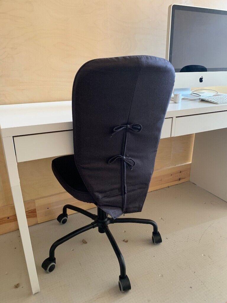 Groovy Ikea Swivel Desk Chair Black In London Gumtree Ibusinesslaw Wood Chair Design Ideas Ibusinesslaworg