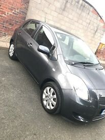 TOYOTA YARIS 1.3L Petrol TR. Alloy wheels, cheap road tax and insurance. Amazing Condition