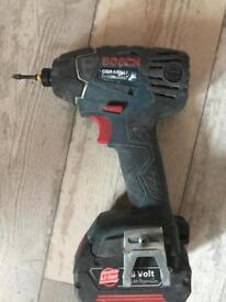 Bosch gdr impact drill 18v