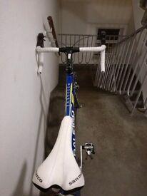 Unused road bike
