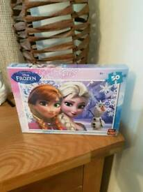 Brand new frozen jigsaw