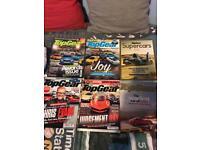 Top gear magazines