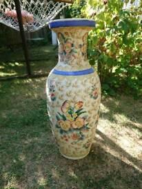 Large Decorative Ceramic Vase