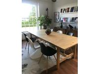 IKEA NORDEN Dining Table 240 unextended length