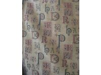 Beautiful Chenille Type Curtains Professionally Made