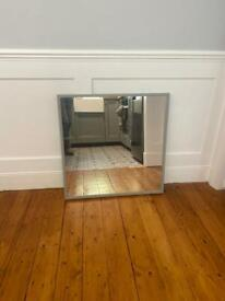 IKEA mirror, painted with farrow and ball