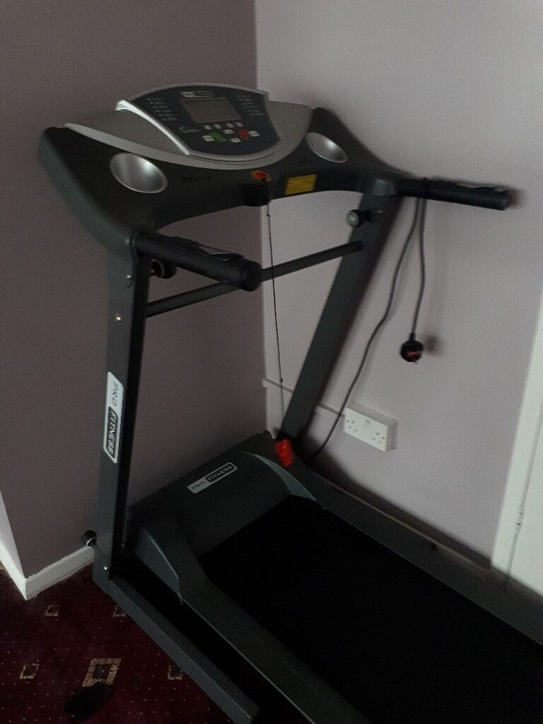 TREADMILL FOR SALE- USED ONCE, GOOD CONDITION