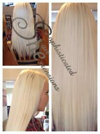 Hair extensions from 100.00 prebonded,microloops.microbeads or nanorings - russian or indian hair