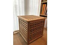 Side & storage table 50x50 cm (acacia)