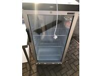 Tefcold glass door fridge
