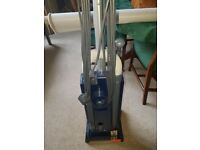 sebo x4 upright hoover with atta hments as new condition