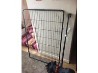 Tall dog pen