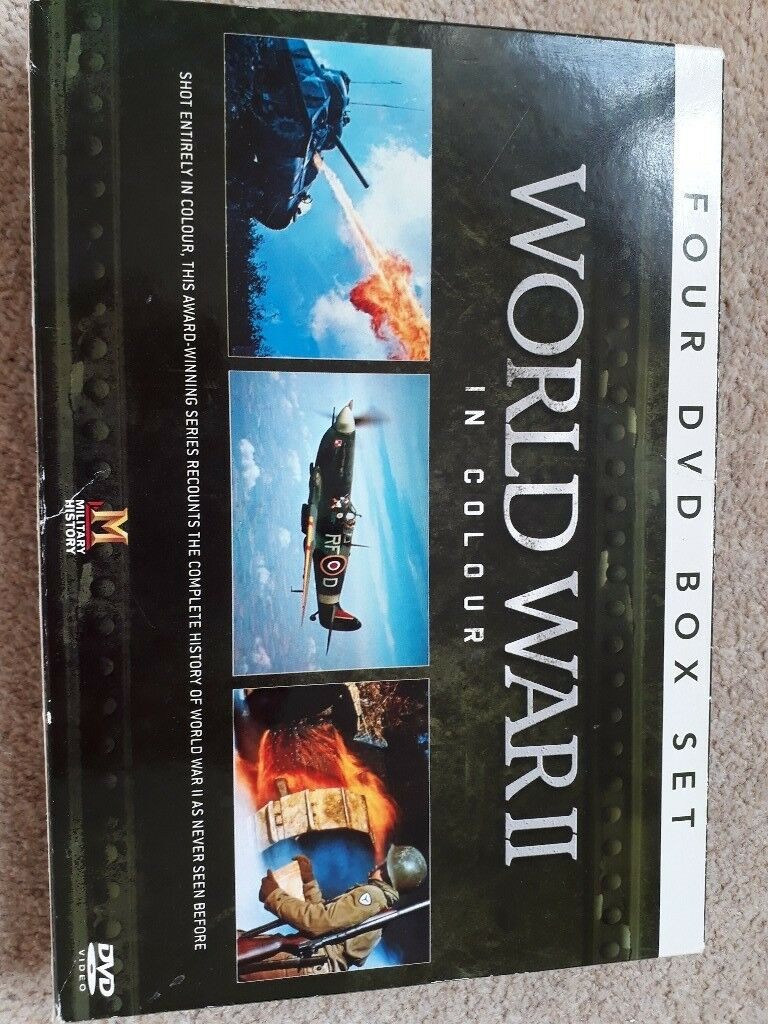 World war 2 in colour dvd box set | in Sunderland, Tyne and Wear ...