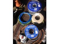 Job lot electrical cable