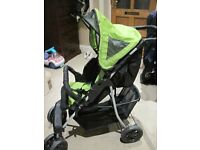 Mothercare Swoop Pram in Green For Sale in Excellent Condition £25