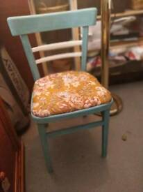 Painted vintage chair