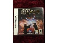Nintendo DS game Star Wars episode III revenge of the sith Drayton