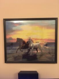 DIY 5d Running horse picture