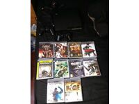 Excellent conditioned 232 GB Playstation 3 with 10 games, 2 controllers etc.