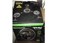 Tmx thrustmaster force feedback steering wheel and pedals xbox one