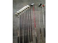 Srixon I403 irons + Ping driver + 5 wood + putter + Wedge + stand bag