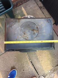 Beldray cast iron wood burning stove