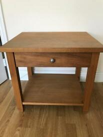 Next oak veneer table